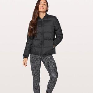 Lululemon weightless wonder coat size black 12